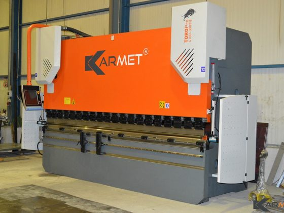 Another delivery of a hydraulic press brake TORO Pro 4100-300TN by Karmet Bulgaria Ltd. In Greece