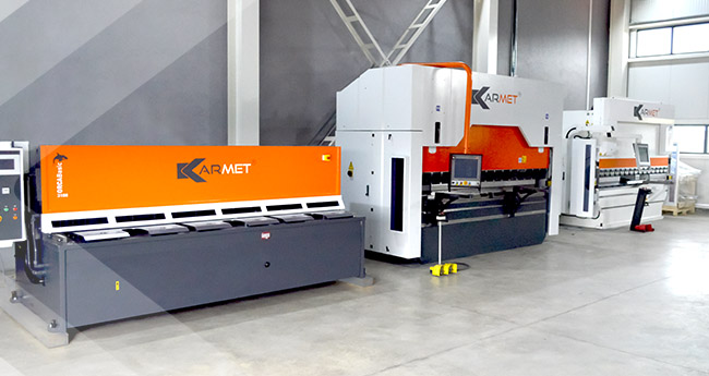 Karmet machines – ready for tests and demonstrations